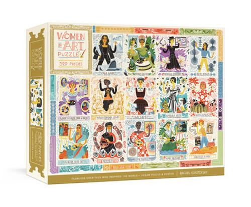 Women in Art 500 pc Puzzle