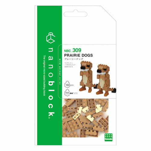 Nanoblock Prairie Dogs