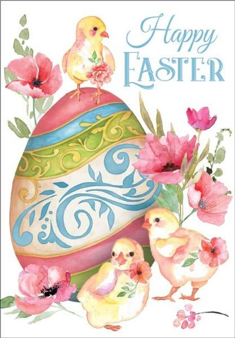 Easter Card - Happy Easter Egg