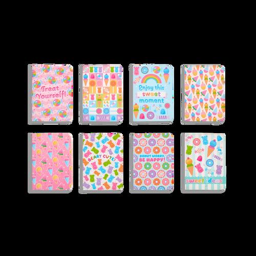 sugar joy pocket pal journals - set of 8