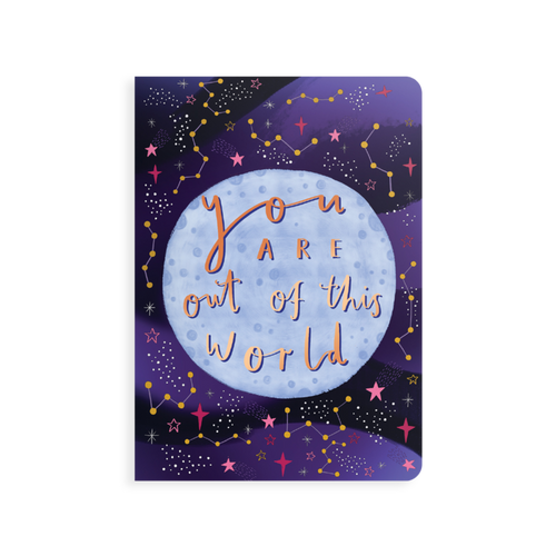 jot-it! notebook - out of this world