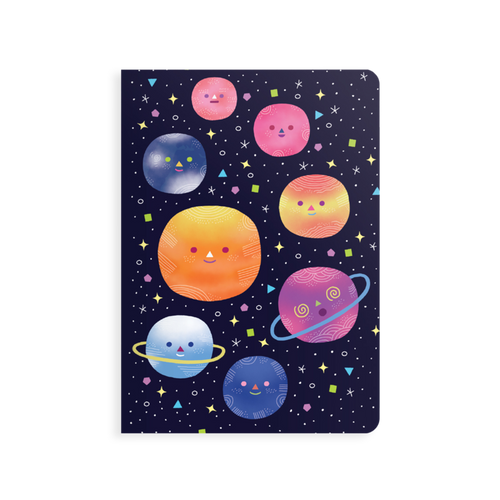 jot-it! notebook - planets
