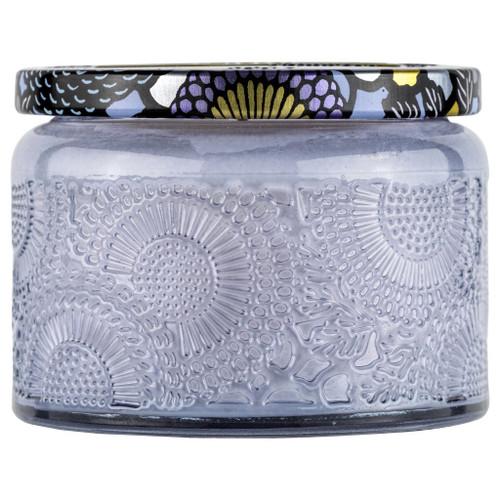 Apple Blue Clover Small Glass Jar Candle 3.2oz