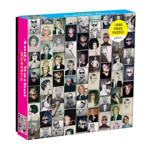 Andy Warhol Selfies 1000 Piece Puzzle