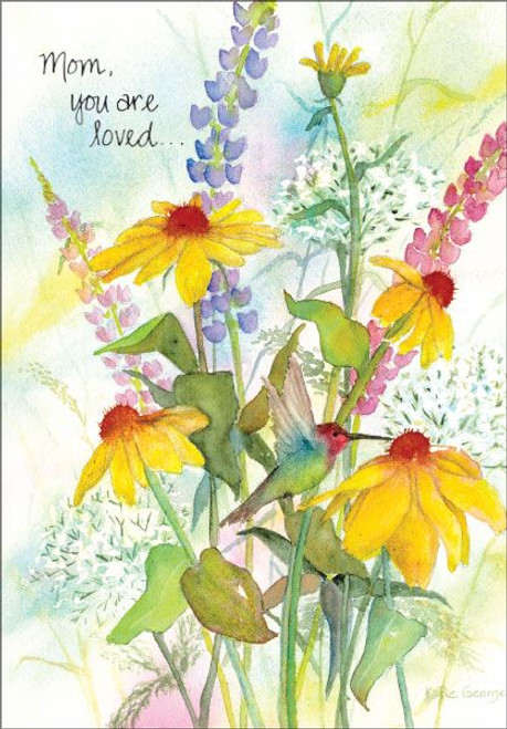 Hummingbird Mother's Day Card
