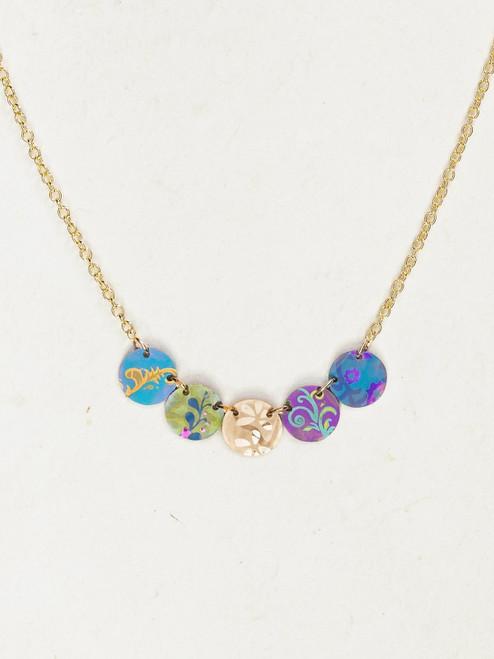 Multi Laurel Necklace