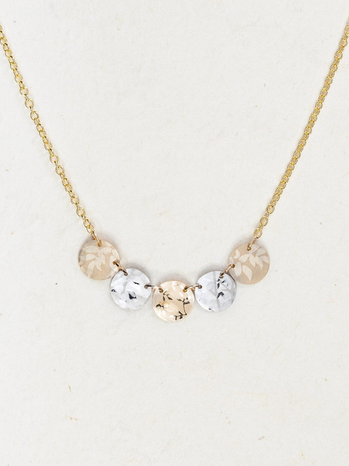Gold / Silver Laurel Necklace