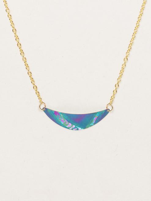 Turq / Purple Selena Necklace