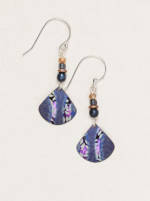 Indigo Painterly Earrings