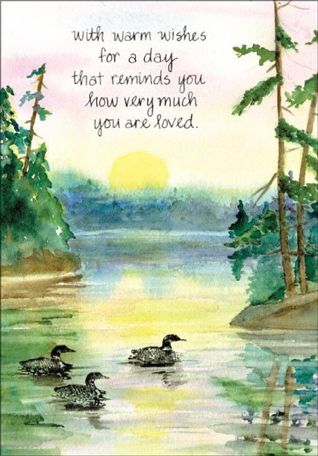 You are loved Father's Day Card