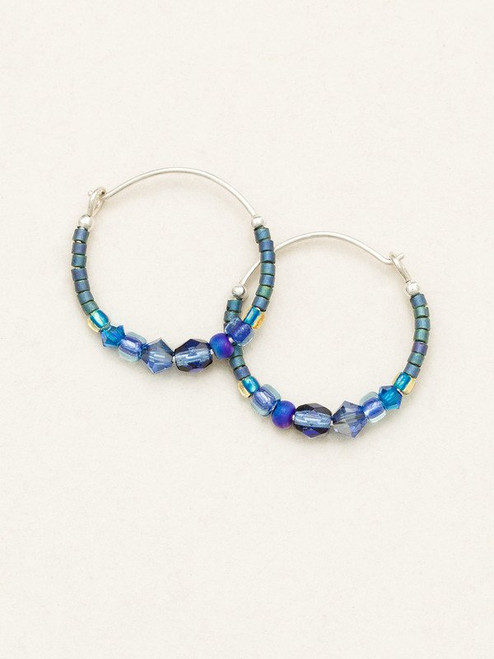 Denim Sonoma Petite Glass Bead Hoop