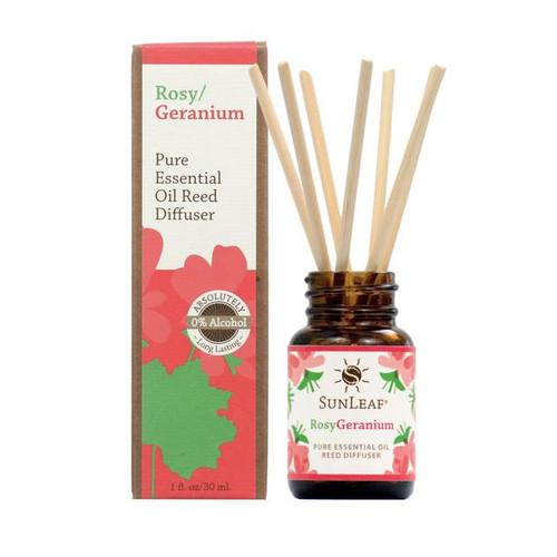 Rosy / Geranium EO Reed Diffuser