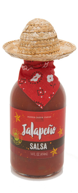 Jalapeño Salsa with Sombrero 14 Oz.