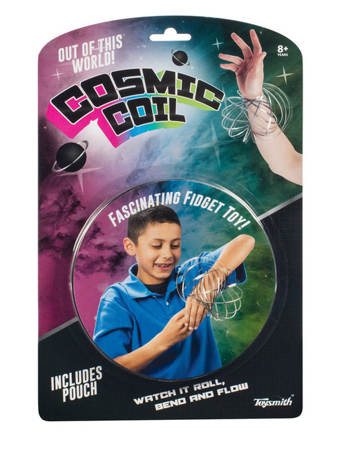 Cosmic Coil a fascinating fidget toy!