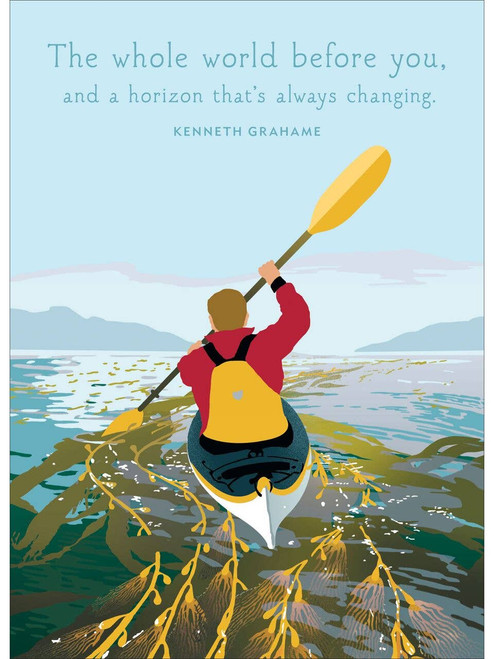 Kayak Birthday Card