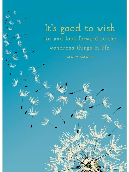 Dandelion Wish Birthday Card