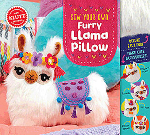 Sew Your Own Furry Llama Pillow by Klutz