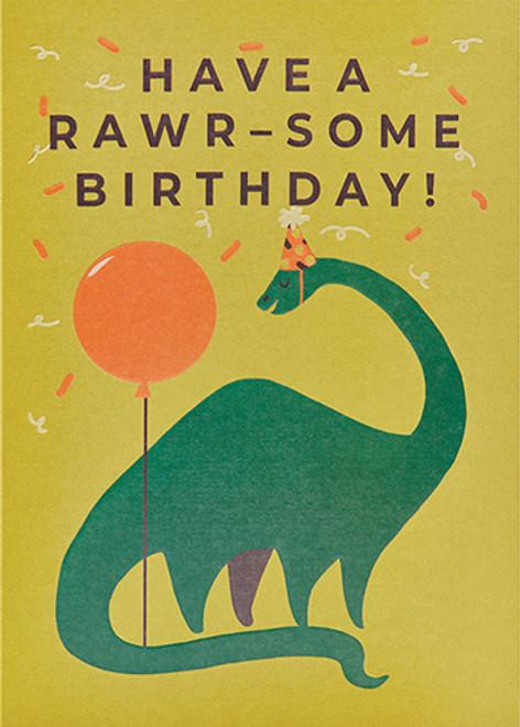 Rawr-Some - Birthday Card