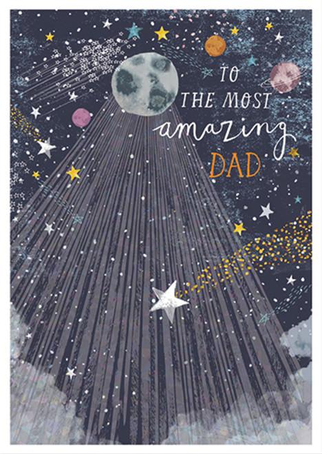 Amazing Dad - Birthday Card