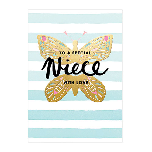 To A Special Niece - Birthday Card