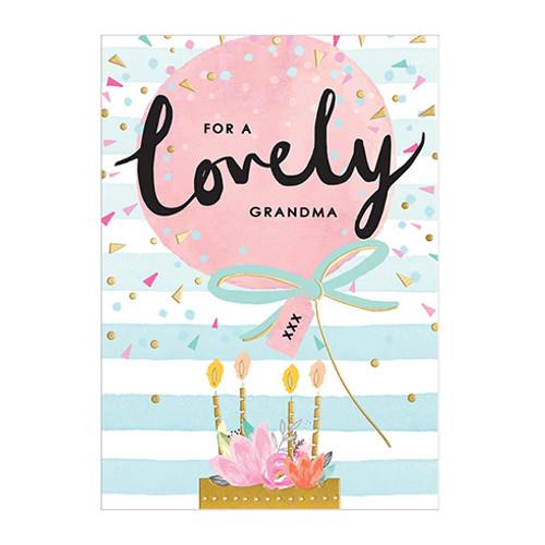 Birthday Grandma - Birthday Card
