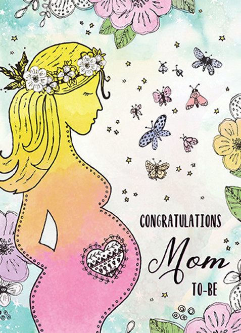 Mom to Be - Pregnancy Card