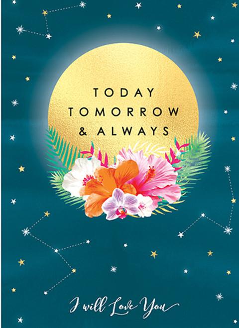 Today Tomorrow - Anniversary Card