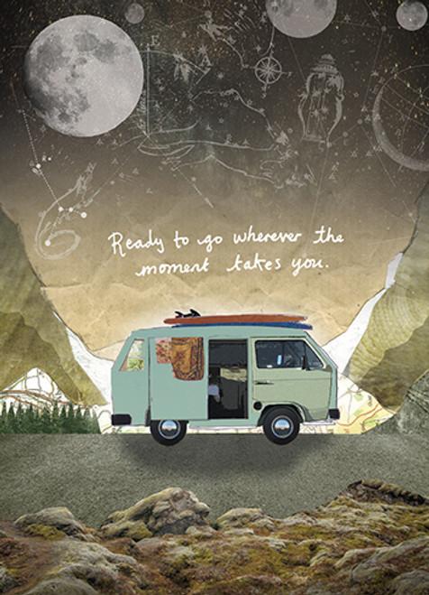 Camper Van - Birthday Card