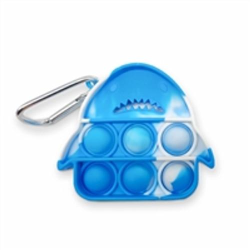 OMG Pop Fidgety Keychain - Shark