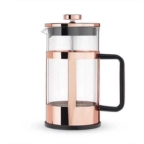 Piper Rose Gold French Press Pot by Pinky Up