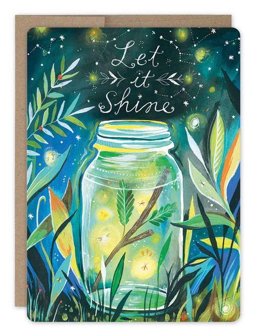 Firefly Jar Birthday Card