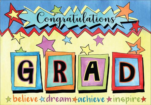 Congratulations Grad - Graduation Card