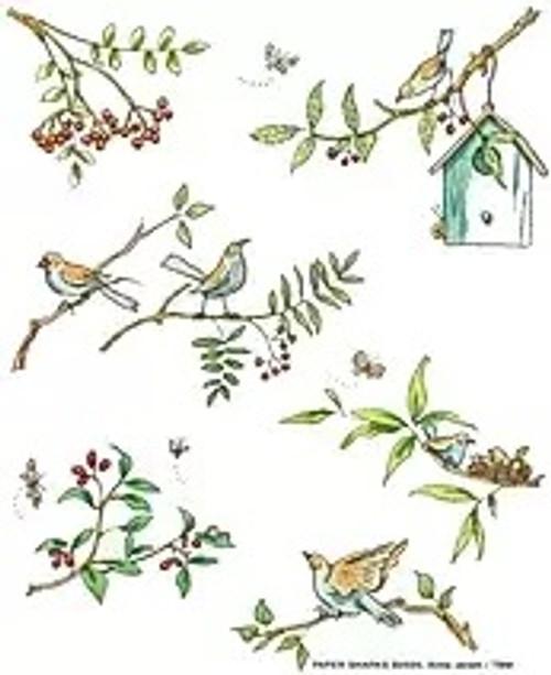 Bird Branch Flour Sack Towel