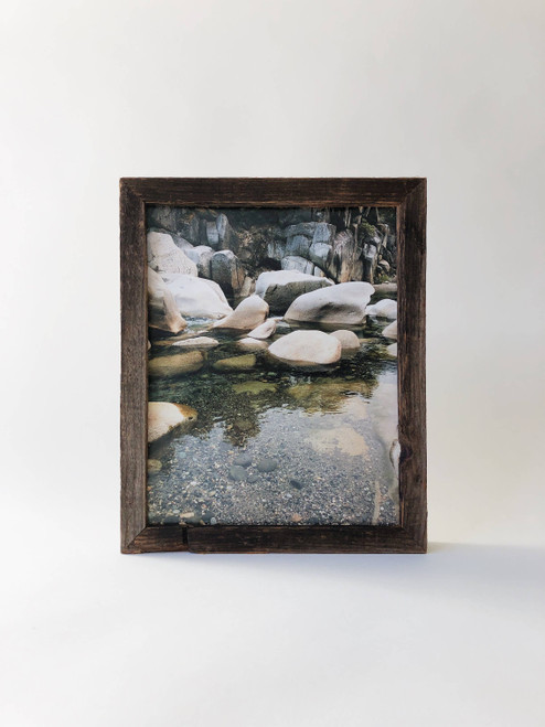 """8"""" x 10"""" Reclaimed Wood Gallery Frame"""