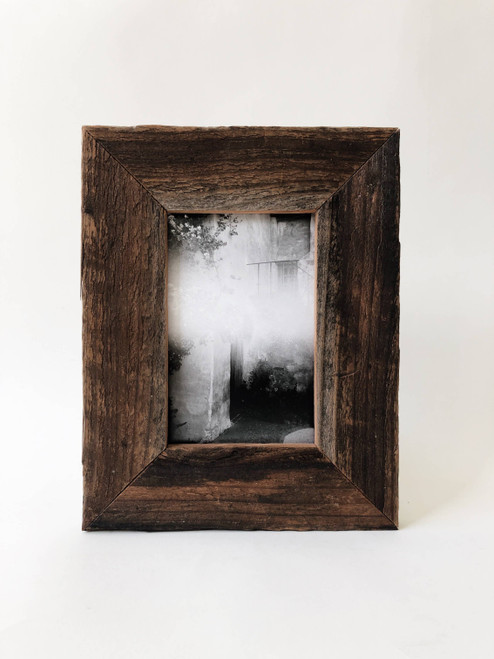 """4"""" x 6"""" Reclaimed Wood Wide Frame"""
