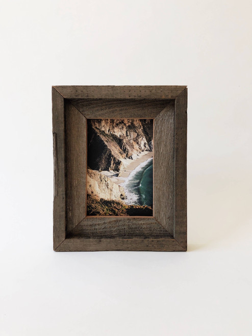 """5"""" x 7"""" Reclaimed Wood Double Frame"""
