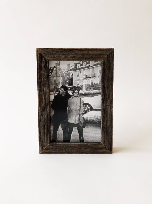 """4"""" x 6"""" Reclaimed Wood Gallery Frame"""