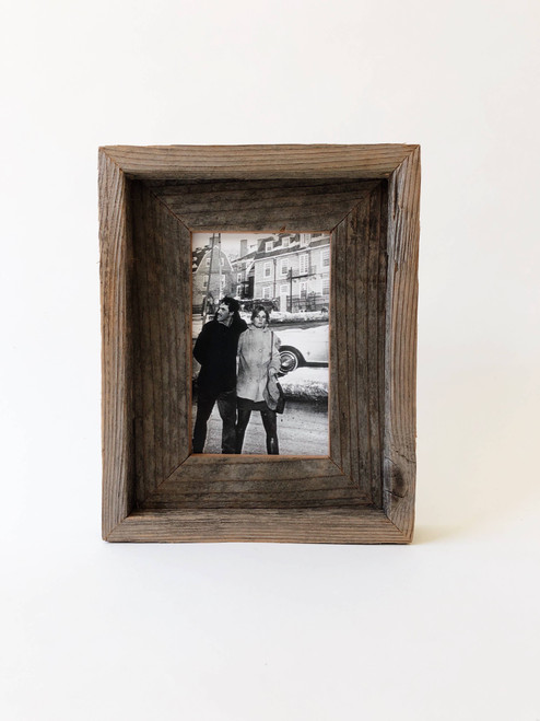 """4"""" x 6"""" Reclaimed Wood Double Frame"""