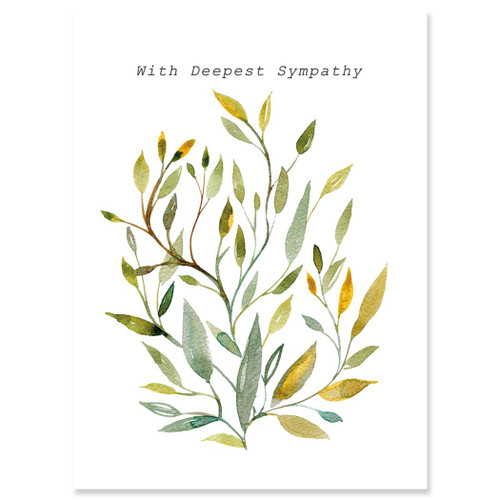 Willow Sympathy Card