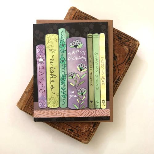 Books Birthday Card