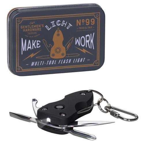 Pocket Multi-Tool with Flashlight