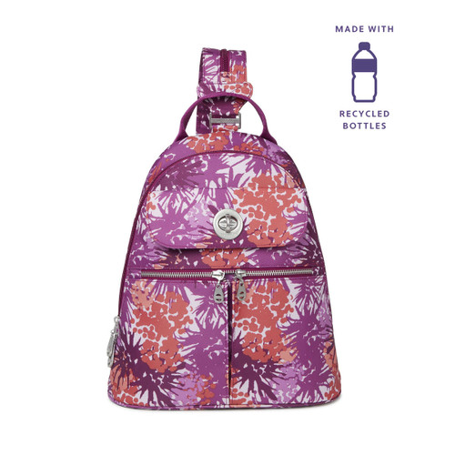 ECO Naples Convertible Backpack - ECO Plum Thistle
