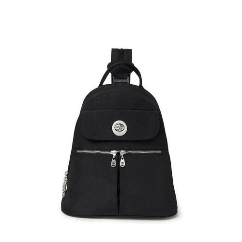 Naples Convertible Backpack - Black