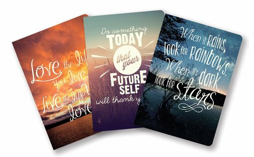 Words to Live By - Notebook Trio