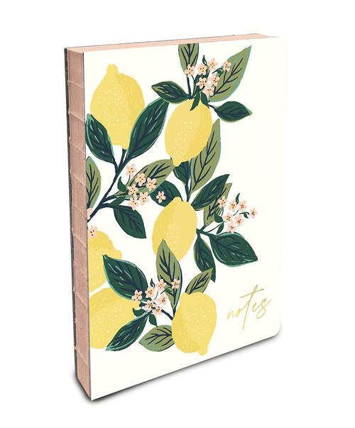 Coptic-Bound Journal - Lemon Tree