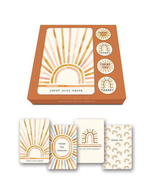 Note Card Set - Sunny Skies