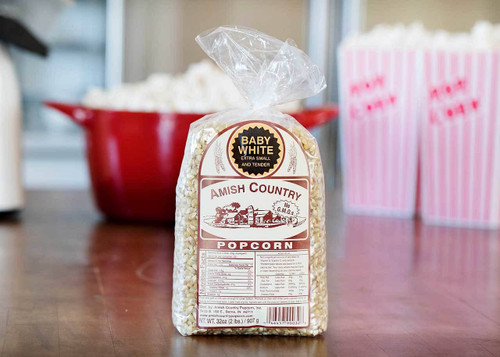 2lb Bag of Baby White Popcorn