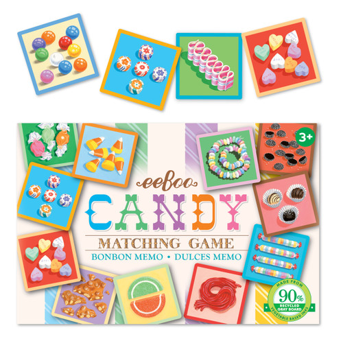 Candy Memory Matching Game by Eeboo