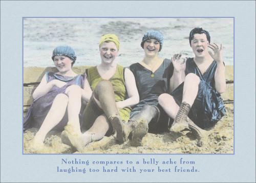 Beach Quartet - Friendship Card