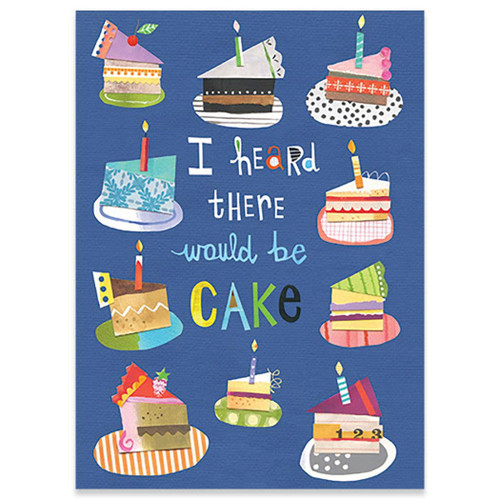 Heard Cake - Birthday Card